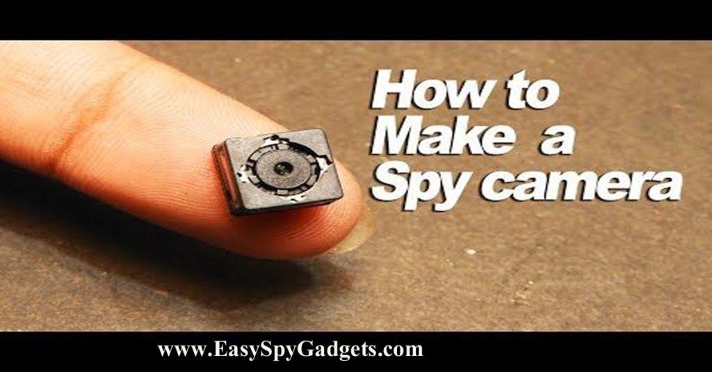 how to make spy camera