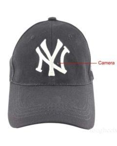 Hidden camera in hat